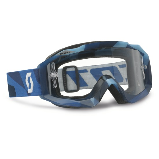 Occhiali cross Scott Hustle MX Abstract Blue
