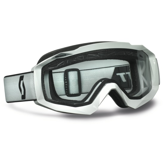 Goggles Scott Hustle MX Enduro Cross White