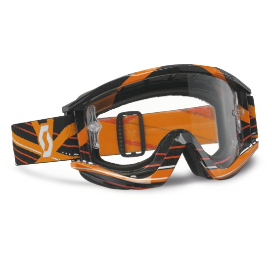 Scott cross glasses RecoilIX Pro Grid Lock Black Orange