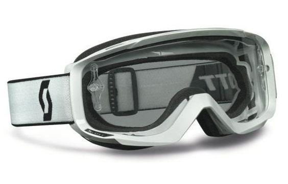 Scott Split OTG off road goggles White