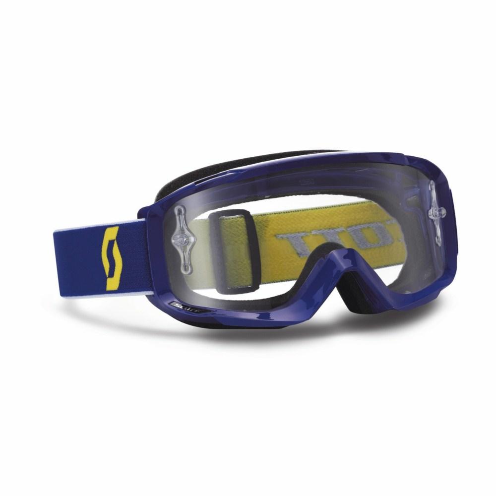 Scott Split Pro OTG cross goggles Blue