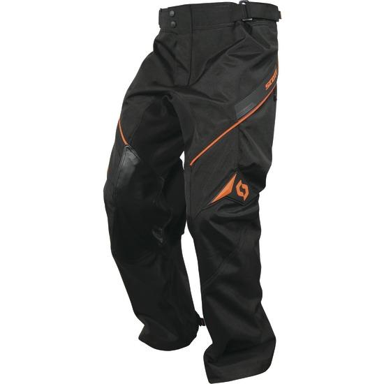 Pantaloni cross Scott Adventure Nero Arancio