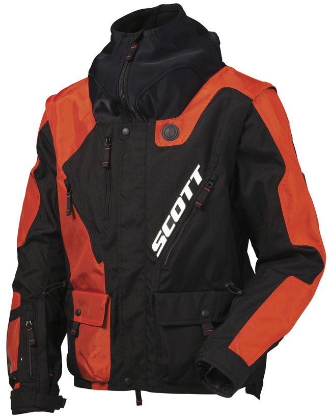 Cross Jacket Scott 350 NB Black Orange