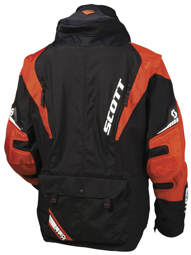 Giacca cross Scott 350 NB Nero Arancio