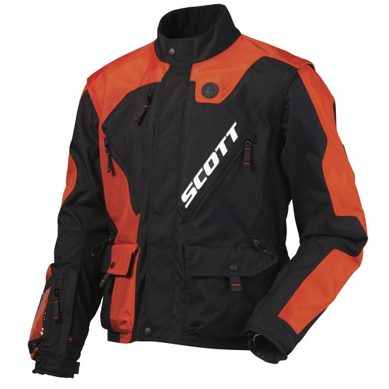 Cross Scott Jacket 350 Black Orange
