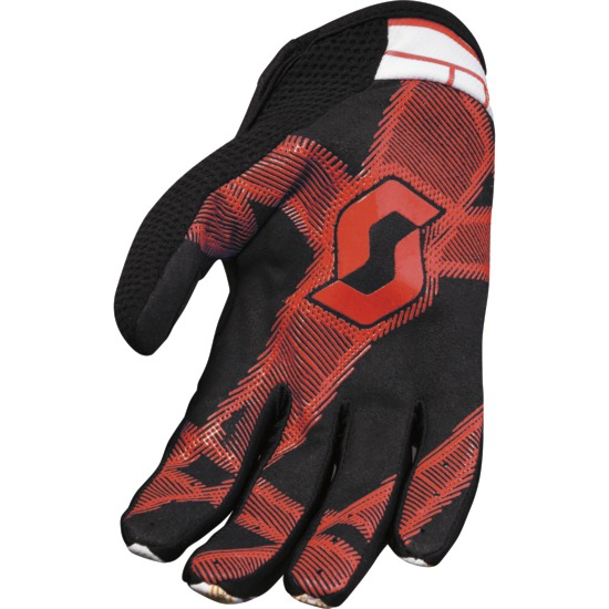 Hyper kid Motocross glove Scott Black / Red