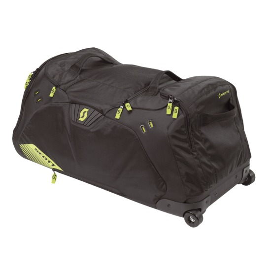 Trolley bag Scott Duffle Black Green