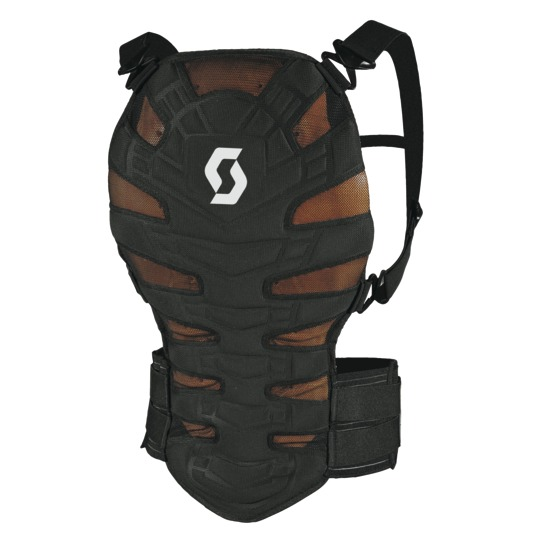 Scott Back Protector Soft CR II Black
