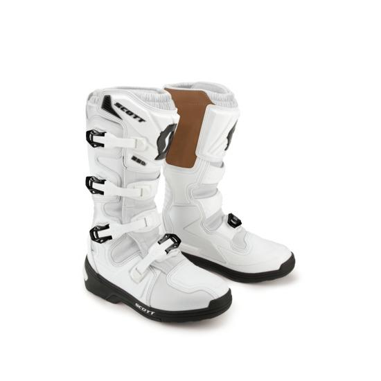 Scott 450 Boots cross White