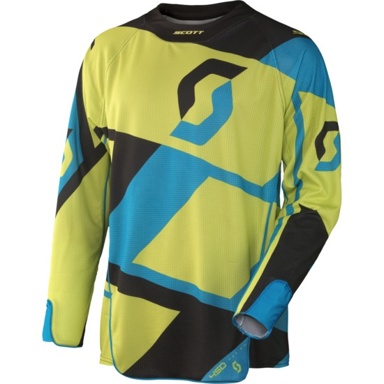 Jersey cross Scott 450 Cubic Green Black