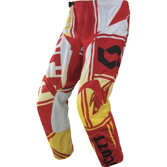 Pants cross Scott 350 Squadron Red Yellow