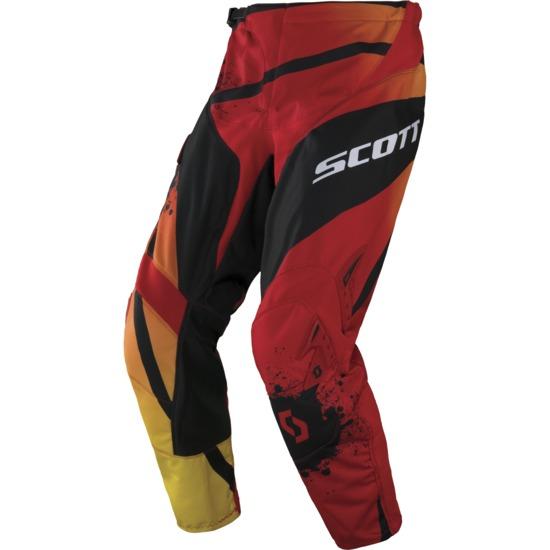Pantaloni cross Scott 350 Tactic Rosso Nero