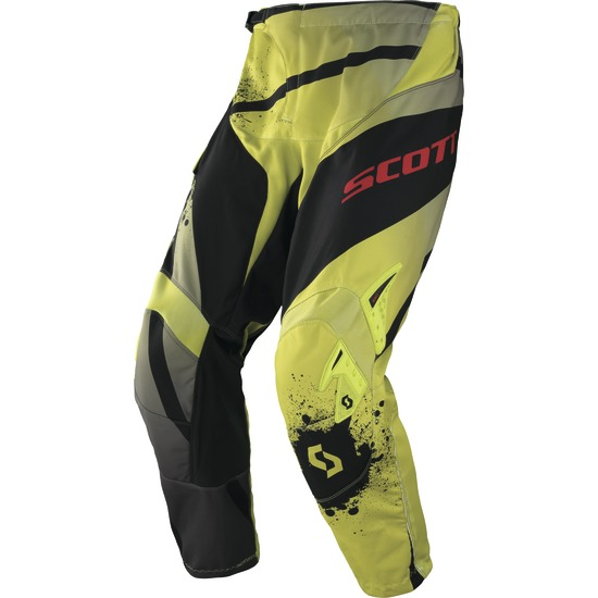 Pantaloni cross Scott 350 Tactic Verde Nero