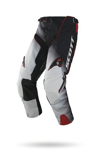 Scott Fission cross pants 450 Black White