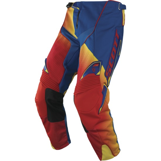 Scott Fission cross pants 450 Red Blue