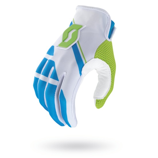Cross Armada Gloves Scott 350 Blue White