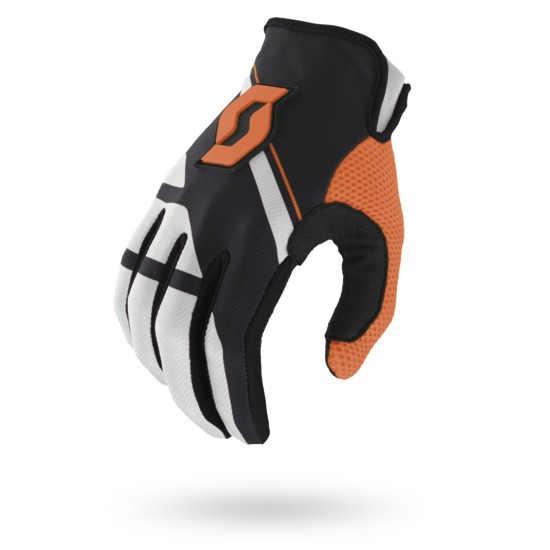 Guanti cross Scott 350 Armada Nero Arancio