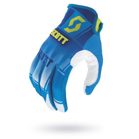 Cross Gloves Scott 350 Squadron Blue Green