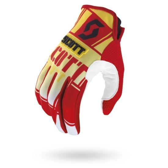 Gloves Scott 350 Squadron Yellow Red Cross