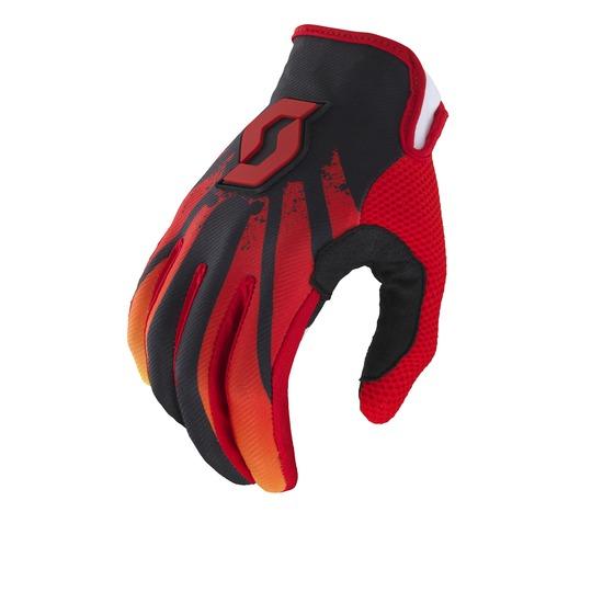 Cross Tactic Gloves Scott 350 Red Black