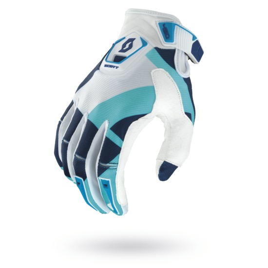 Cross Gloves Scott 450 Cubic Blue Grey