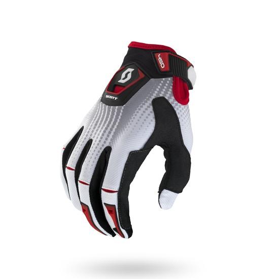 Fission cross Gloves Scott 450 Black White