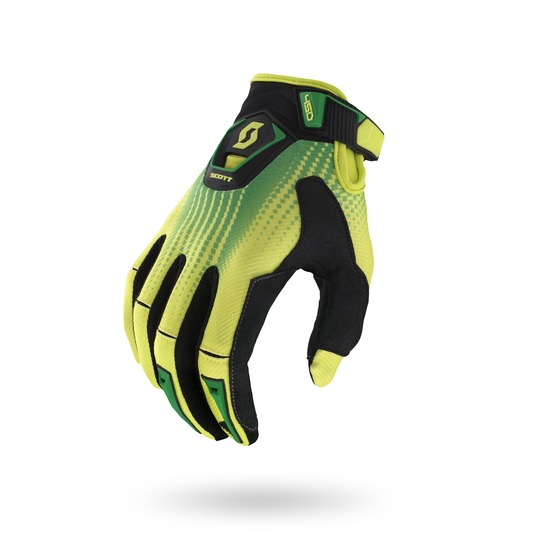 Fission cross Gloves Scott 450 Black Green