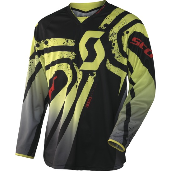 Jersey cross baby Scott 350 Green Black Kids Tactic