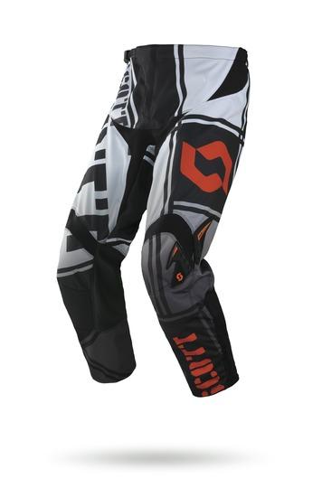 Pantaloni cross bambino Scott 350 Kids Squadron Nero Bianco