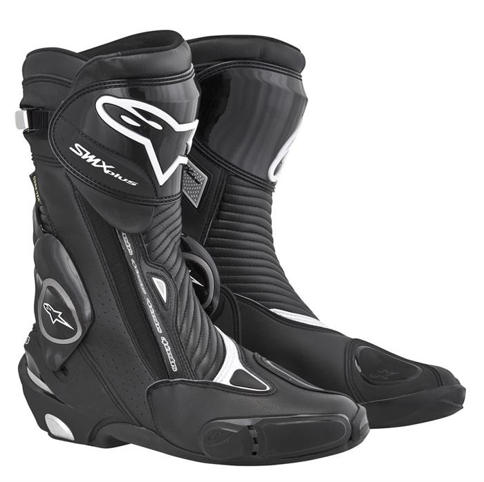 Stivali moto Alpinestars S-MX Plus Gore-Tex Nero