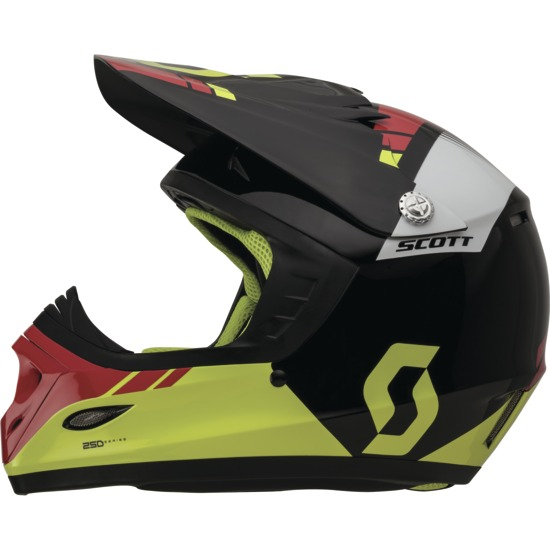 Cross helmet child Scott Photon ECE 250 Kids Black Green