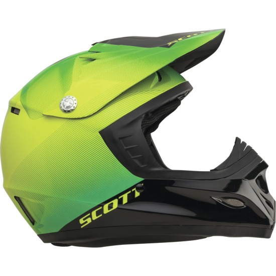 Cross helmet child Scott Fission ECE 250 Kids Green Black