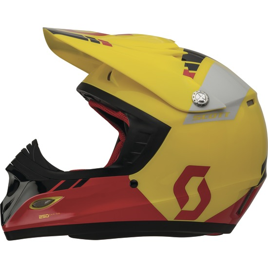 Cross helmet child Scott Photon ECE 250 Kids Yellow Red