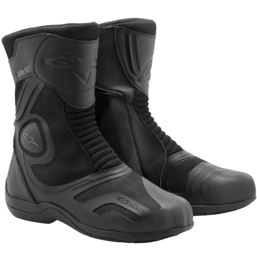 Stivali moto Alpinestars Air Plus Gore-Tex XCR neri