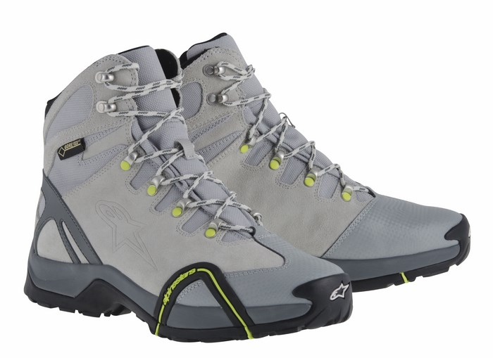Alpinestars CR-4 Gore-Tex XCR shoes white grey yellow