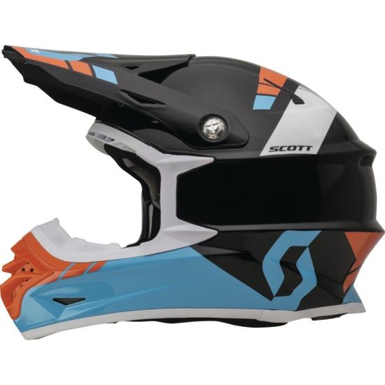 Cross helmet Scott 350Pro Photon Blue Black