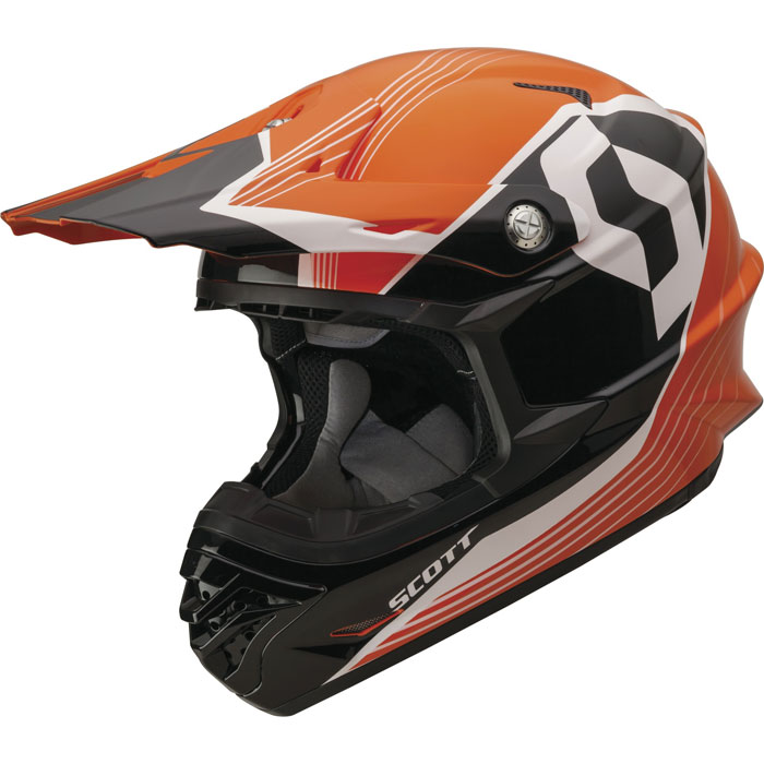 Cross helmet Scott 350 Pro Slipstream ECE Orange