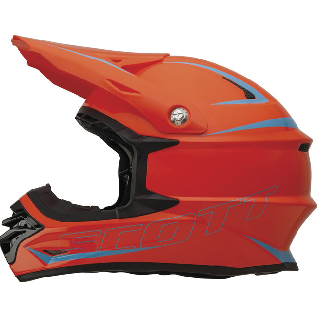 Casco cross Scott 350 Pro Arancio