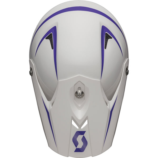 Cross helmet Scott Pro 350 White Purple