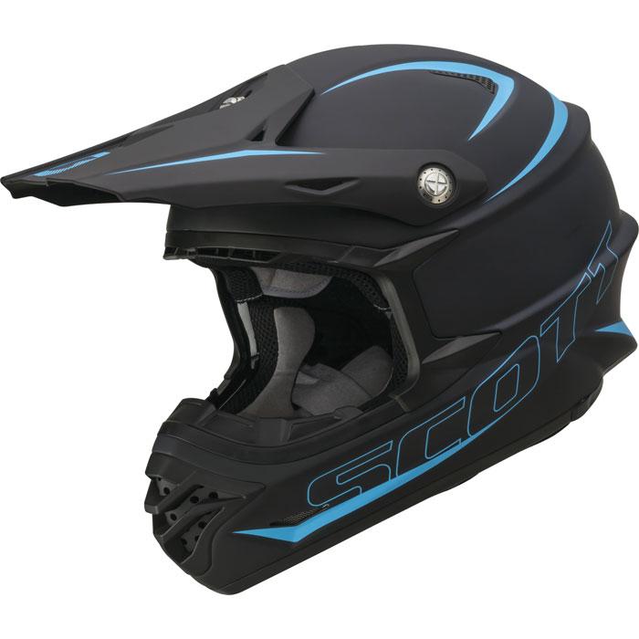 Cross helmet Scott 350 Pro Matte Black