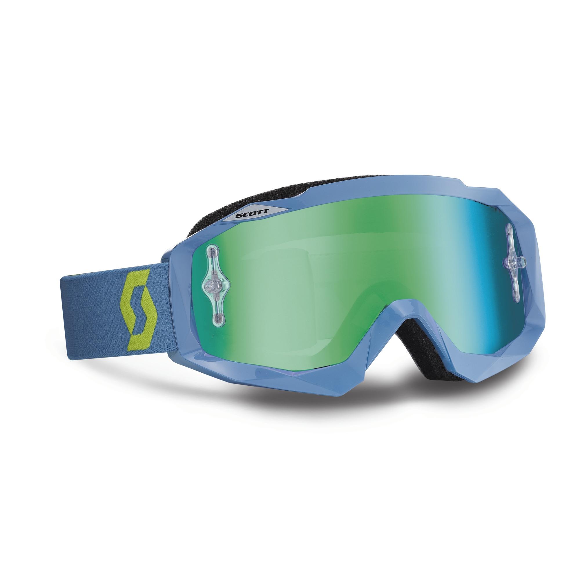 Scott Oxide Hustle MX cross goggles steal Grey Green