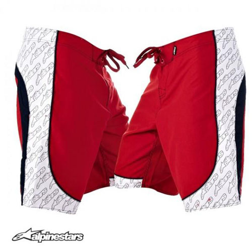 Alpinestars Snake River Board shorts red