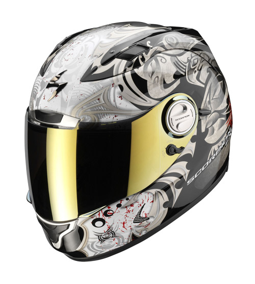 Scorpion Exo 1000 Air Mana full face helmet Black