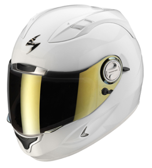 Scorpion EXO 1000 Solid full face helmet Gloss White