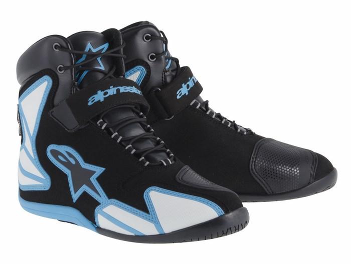 Alpinestars boots Fastback Waterproof Black electric Blue