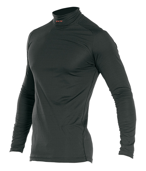 TCX windproof zip winter turtleneck underwear