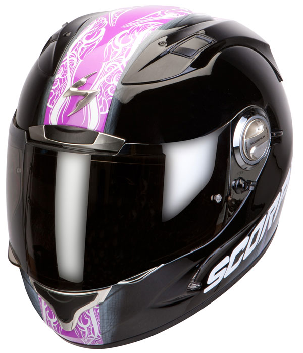Full face helmet Scorpion Exo 1000 Splitter Black Pink