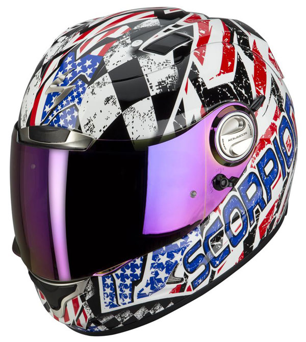 Full face helmet Scorpion EXO 1000 E11 Stars and Stripes