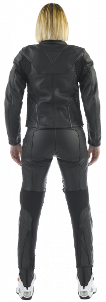 Giacca moto donna in pelle Dainese CAGE PELLE LADY Nero
