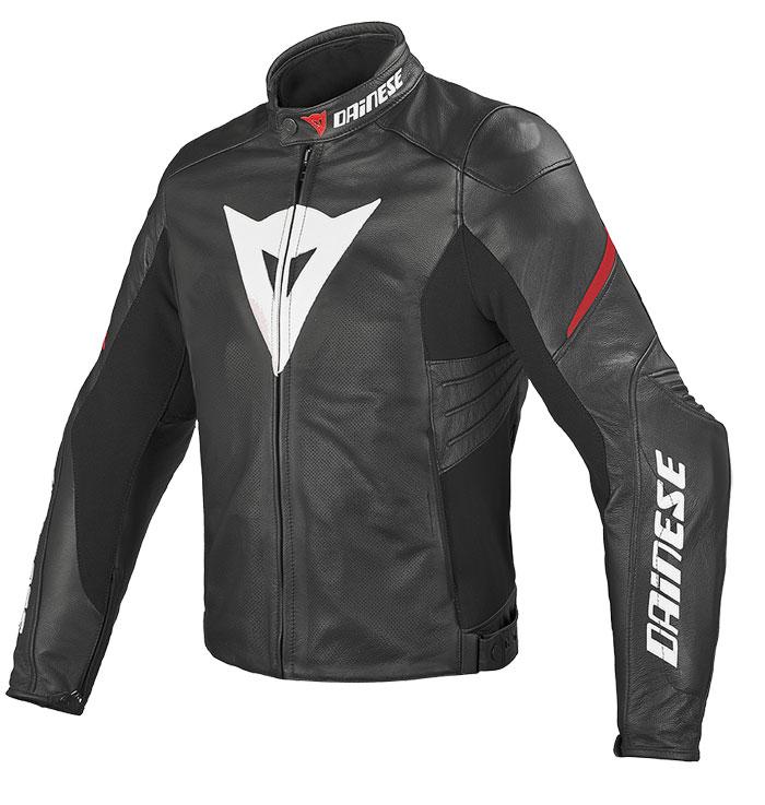 Women's leather motorcycle jacket Dainese Laguna summer Evo